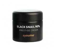 Многофункциональный крем с муцином черной улитки AYOUME Black Snail Prestige Cream 70 мл