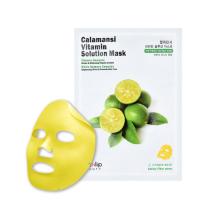 Тканевая маска с экстрактом каламанси Eyenlip Calamansi Vitamin Solution Mask, 25 gr