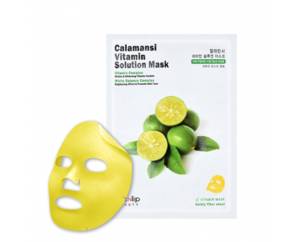 Тканевая маска с экстрактом каламанси Eyenlip Calamansi Vitamin Solution Mask, 25 gr