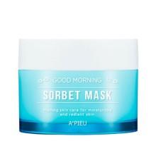 Утренняя маска-сорбет для лица A'Pieu Good Morning Sorbet Mask, 110 ml