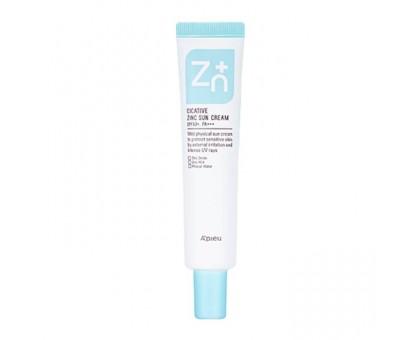 Крем для лица с цинком A'Pieu Cicative Zinc Cream 55 мл