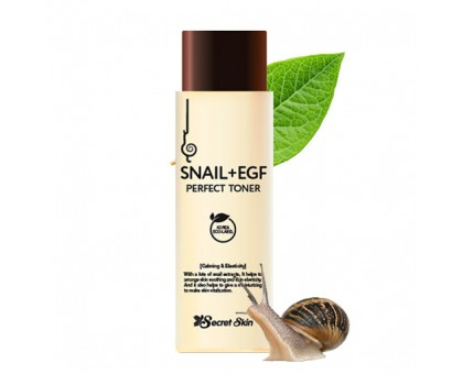 Тонер для лица Secret Skin Snail+EGF Perfect Toner, 150 ml
