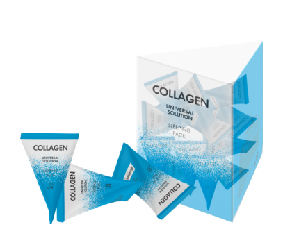 J:ON Набор масок для лица с коллагеном Collagen Universal Solution Sleeping Pack 5 гр