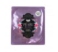 Гидрогелевая маска для лица с маслом ши и жемчужной пудрой Petitfee Pearl & Shea Butter Mask, 30 гр.