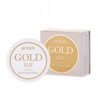 Патчи для глаз Petitfee Premium Gold & EGF Eye Patch  60 шт. (30 пар)