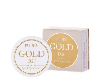 Патчи для глаз Petitfee Premium Gold & EGF Eye Patch  60 шт. (30 пар)