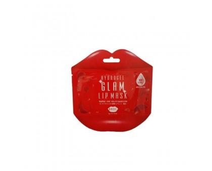 Гидрогелевые патчи для губ с розой Beauugreen Hydrogel Glam Lip Mask Rose, 1 шт.