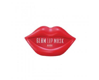 Гидрогелевые патчи для губ с розой Beauugreen Hydrogel Glam Lip Mask Rose 20 шт.