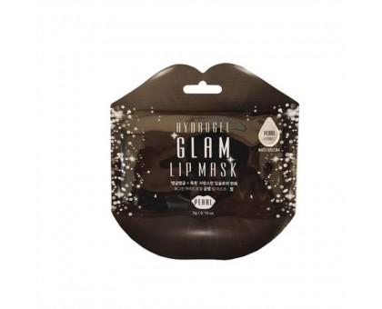 Гидрогелевые патчи для губ с жемчугом Beauugreen Hydrogel Glam Lip Mask Pearl 1 шт.