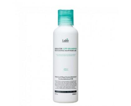 Бессульфатный протеиновый шампунь Lador Keratin LPP Shampoo 150 мл